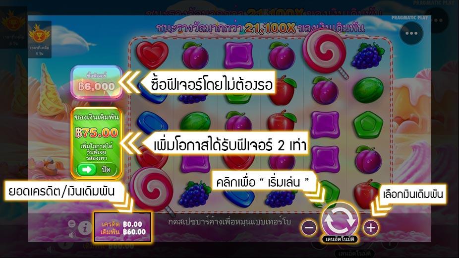 เกม SweetBonanza